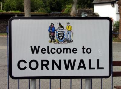 Cornwall Schild